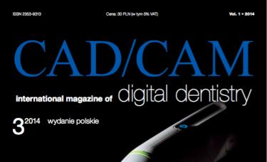 magazyn dla stomatologów CAD/DAM