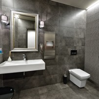toaleta u łazienka w klinice Śmigiel