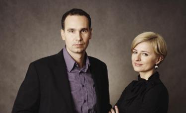dr Tomasz Śmigiel oraz dr Barbara Śmigiel