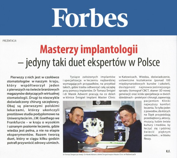 Forbes Implanty
